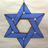 Star of David suncatcher