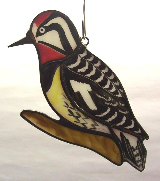 Yellow Bellied Sapsucker Suncatcher