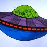 UFO with Aliens