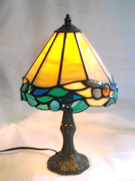 Mini Lamp with Ocracoke Shells