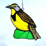 Eastern Meadowlark Suncatcher