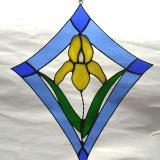 "Iris ""Kite"" Window Art"