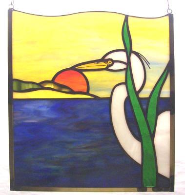 Great Egret Sunset