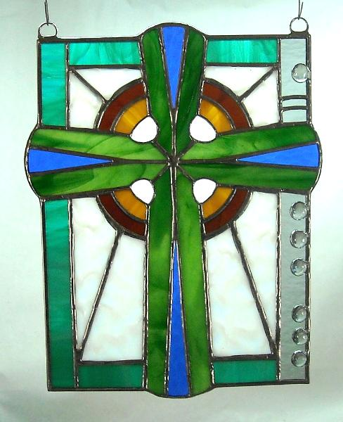 Celtic Cross with Flute