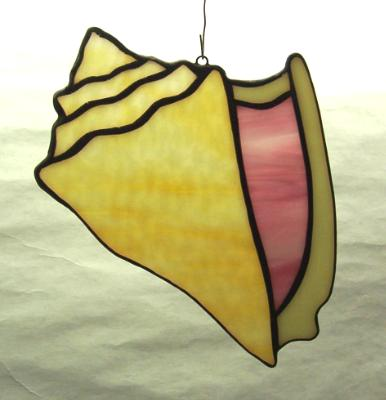 Conch Shell Suncatcher