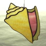Conch Shell Suncatcher