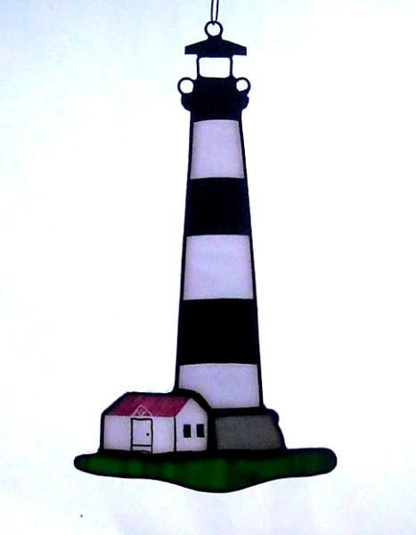 Bodie Island NC Lighthouse Suncatcher