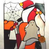Boo (Haloween Stained Glass)