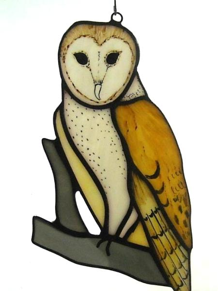 Barn Owl Suncatcher