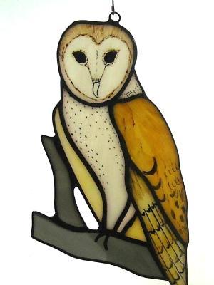 Barn Owl Suncatcher