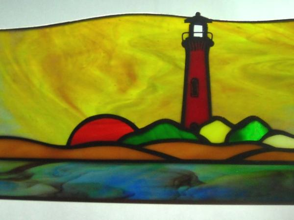 Small Currituck Beach Lighthouse Sunset Panel