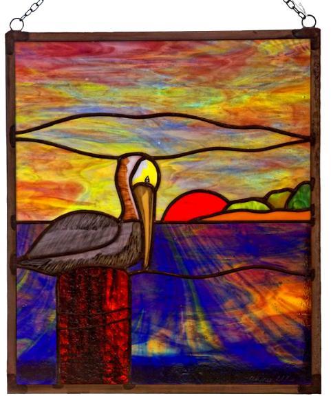 Brown Pelican Sunset