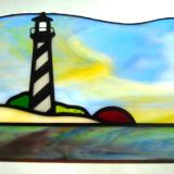 Small Hatteras Lighthouse Panel