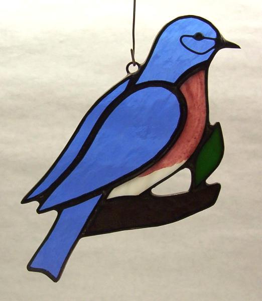 Eastern Bluebird Suncatcher