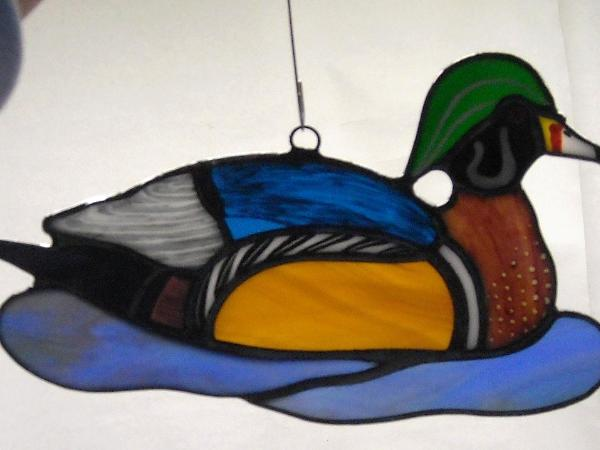 Wood Duck Sun Catcher