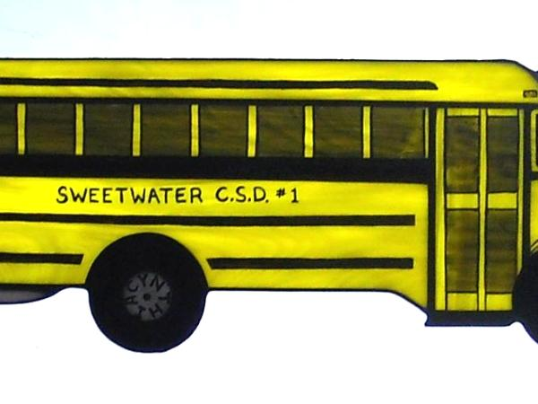 Personalized School Bus ~ Great Teacher Gift!