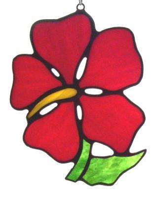 Hibiscus Flower Suncatcher