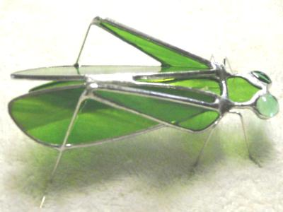 3-D Grasshopper Sculpture