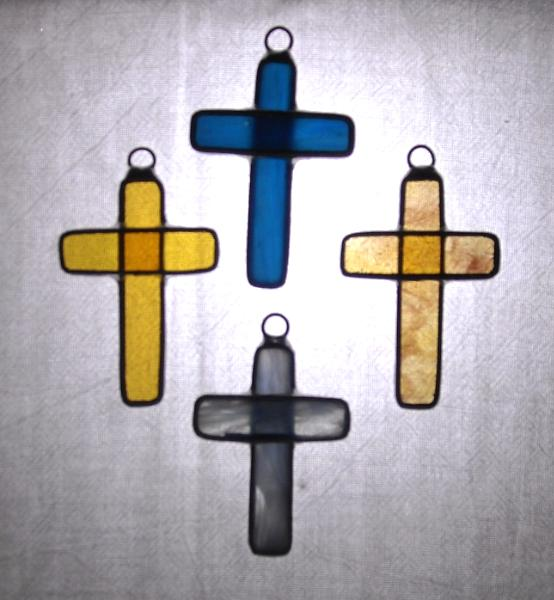 Set of 4 small crosses