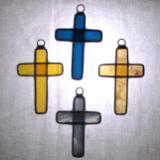Set of 4 small crosses