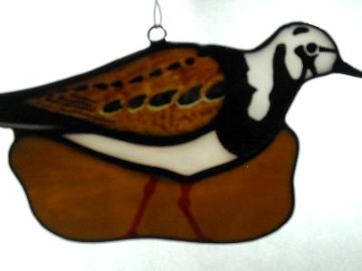 Ruddy Turnstone Shore Bird Sun Catcher