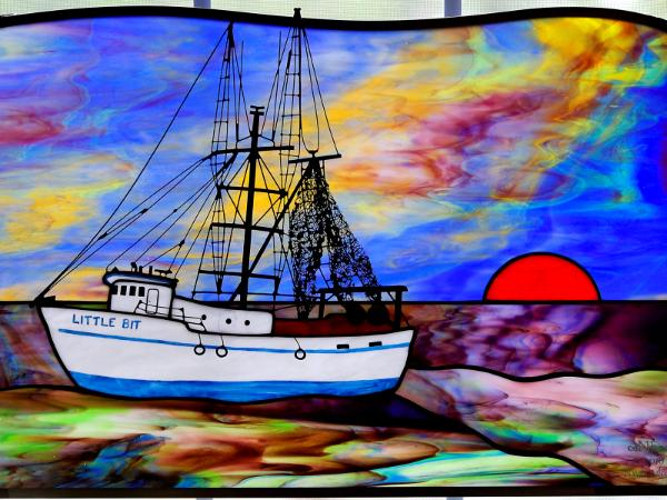 "Shrimp Trawler  ""The Little Bit"""