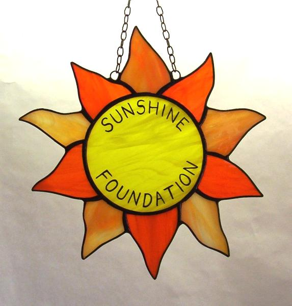 Painted Name on a Sun Catcher