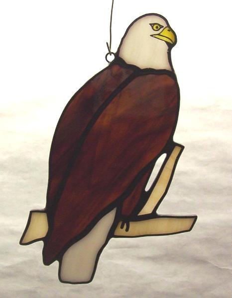 Bald Eagle Suncatcher