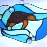 Baby Loggerhead Turtle Free Form