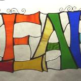 Basic 4-letter Name, Any Colors, Custom